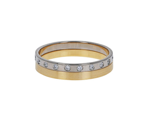 Double Diamond Slim Band