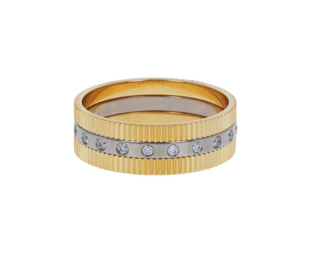 Double Structure Diamond Band - TWISTonline