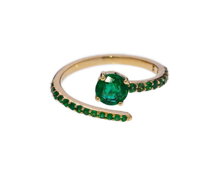 Emerald Grass Seed Ring - TWISTonline