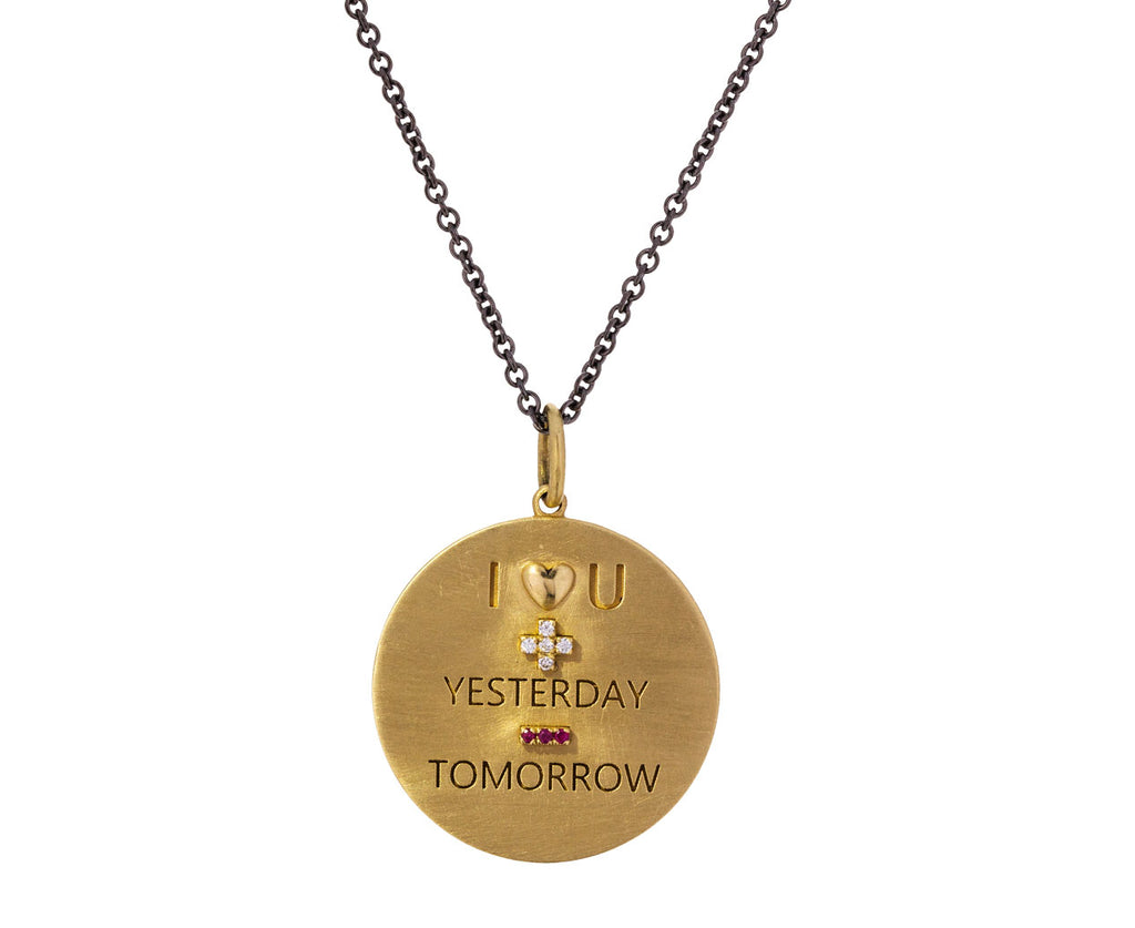 Love You Forever Pendant Necklace