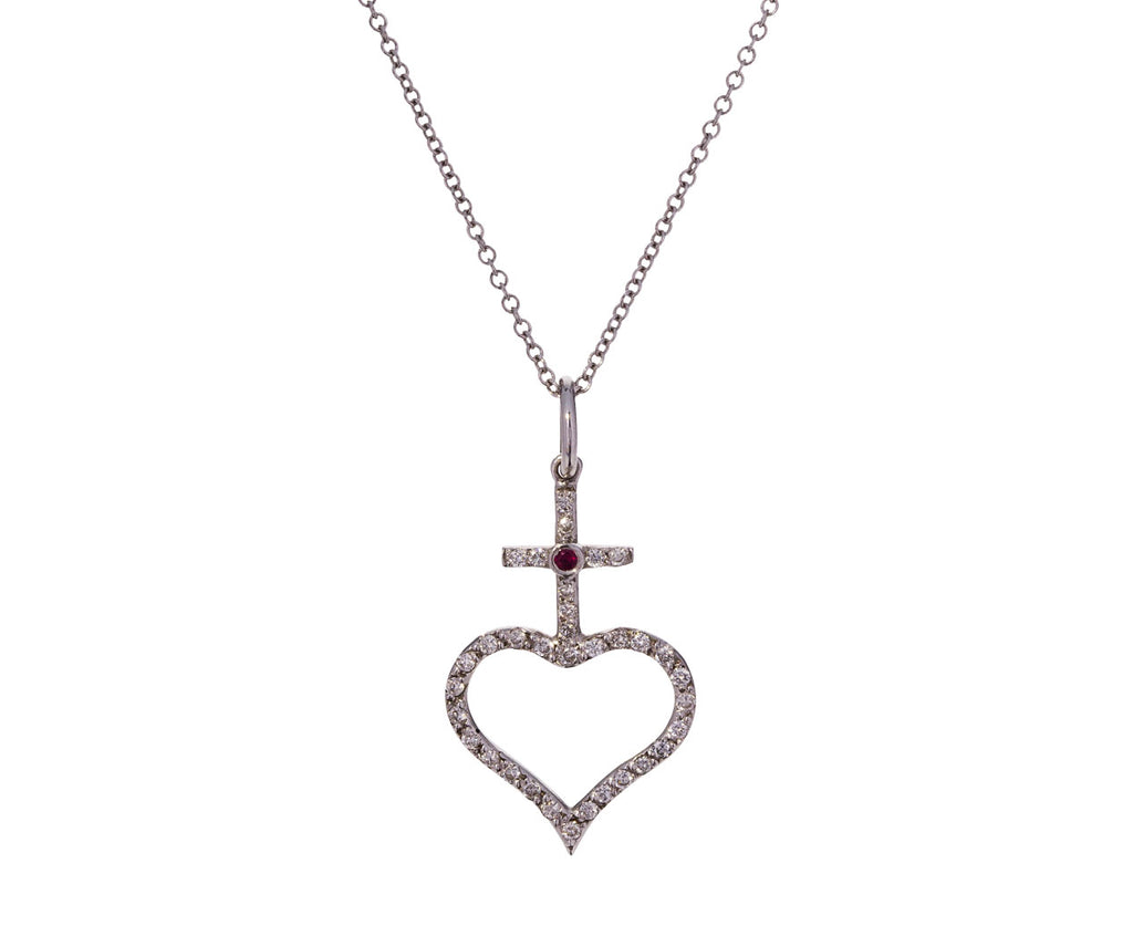 Faith Heart Pendant Necklace