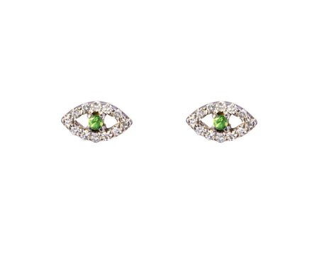 Kitten Eye Diamond Earrings - TWISTonline