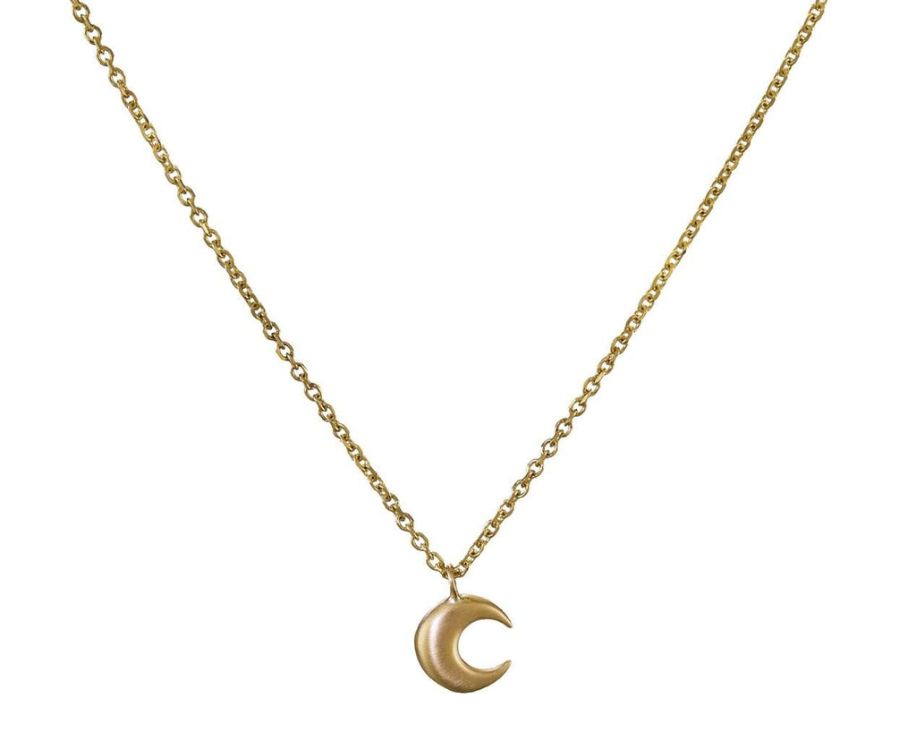Small Moon Pendant Necklace - TWISTonline
