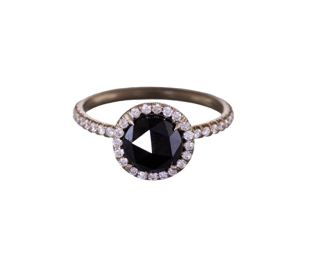 Black Diamond Halo Solitaire - TWISTonline