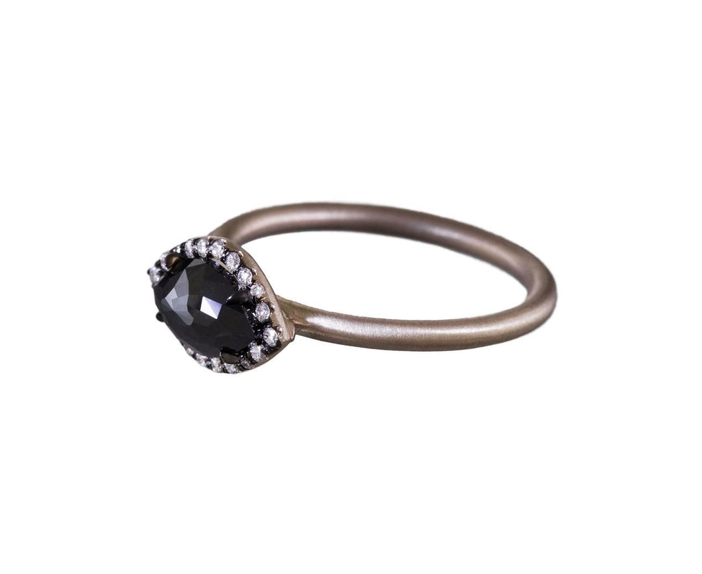 Black Diamond Marquise Ring - TWISTonline
