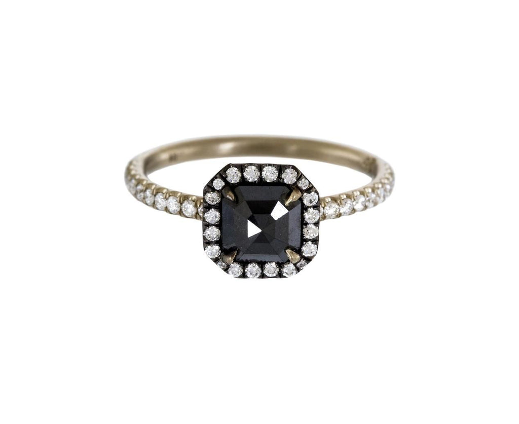 Square Black Diamond Solitaire - TWISTonline