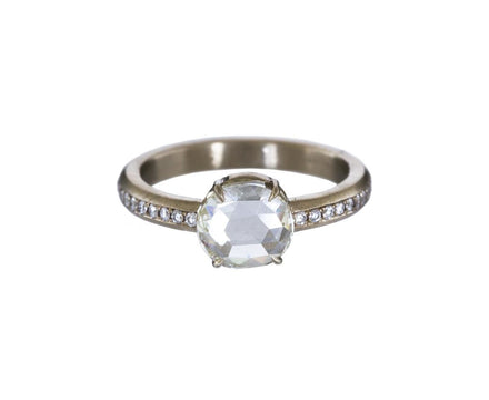 Rose Cut Diamond Solitaire Ring - TWISTonline
