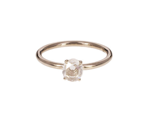 Rose Cut Diamond Solitaire zoom 1_mandrel_studio_gold_rosecut_diamond_ring