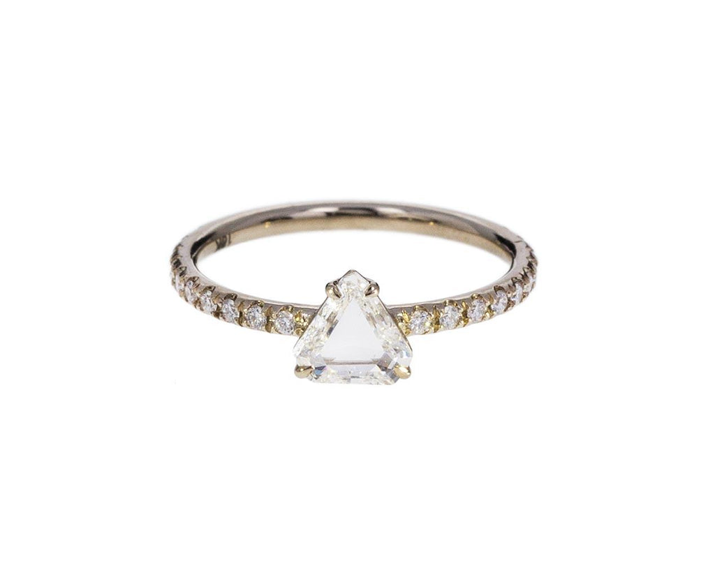 Fancy Cut White Diamond Solitaire - TWISTonline