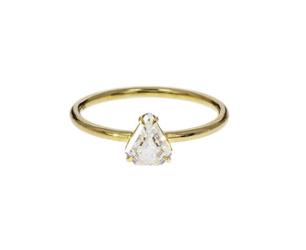 Fancy Cut Prong Set Diamond Solitaire - TWISTonline
