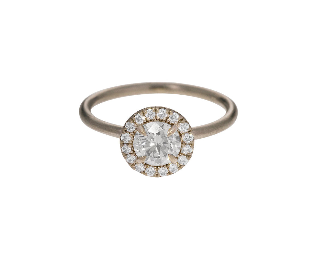 Full Cut Halo Diamond Solitaire - TWISTonline