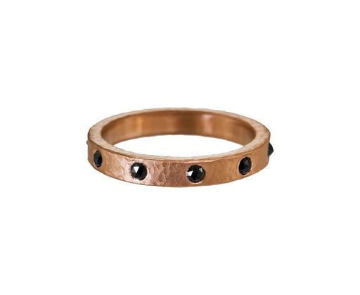 Black Diamond Rose Gold Band - TWISTonline