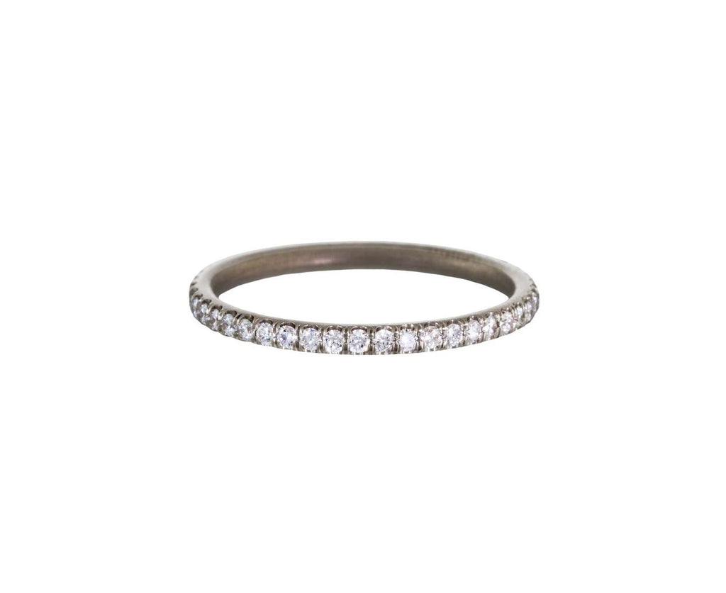 White Gold Diamond Eternity Band - TWISTonline
