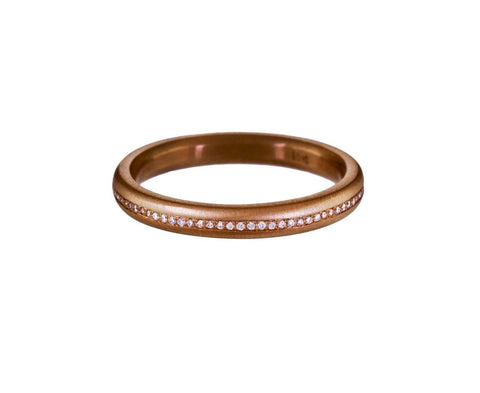 Micro Diamond Pavé Band - TWISTonline