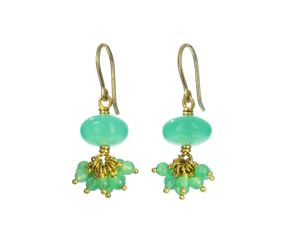 Chrysoprase Sprinkle Earrings - TWISTonline