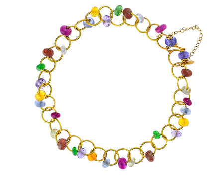 Multi Gem Circus Beaded Bracelet