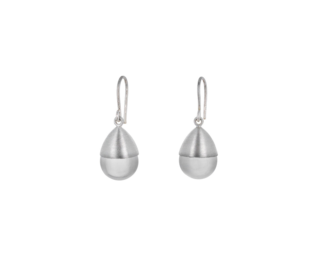 Quartz Buoy Earrings