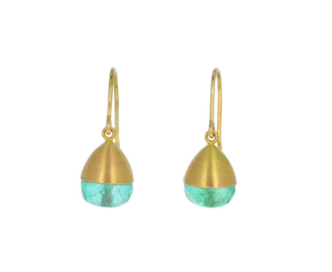 Emerald Buoy Earrings