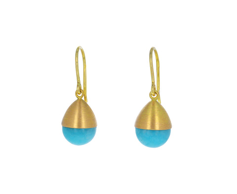 Amazonite Buoy Earrings