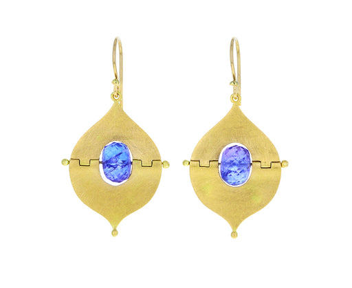 Tanzanite Mesopotamian Earrings