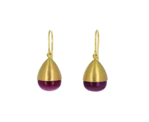 Ruby Buoy Earrings