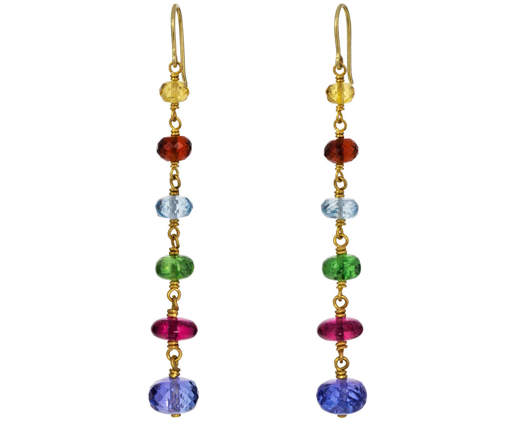 Spun Sugar Tiered Earrings