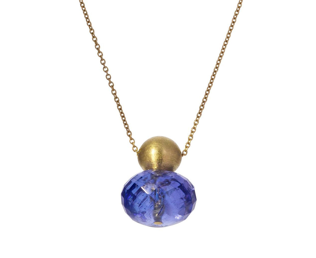 Tanzanite Buoy Pendant Necklace zoom 1_mallary_marks_tanzanite_buoy_necklace