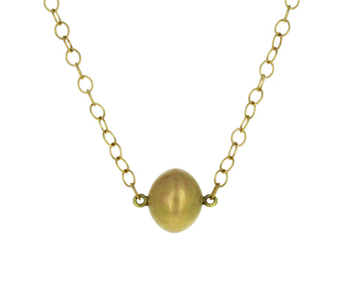Gold Buoy Necklace