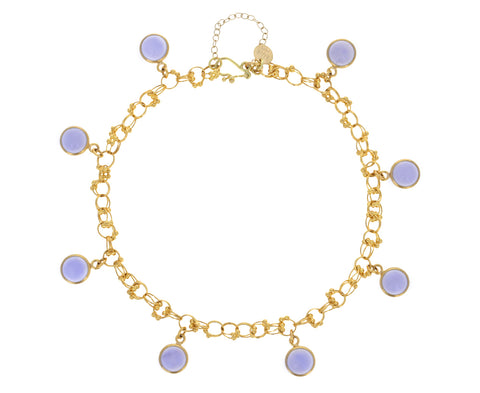 Light Blue Chalcedony Jubilee Bracelet