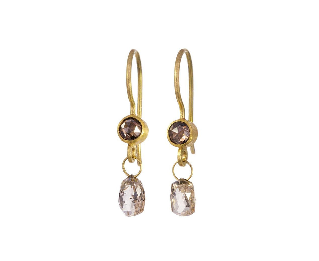 Diamond Apple and Eve Earrings - TWISTonline