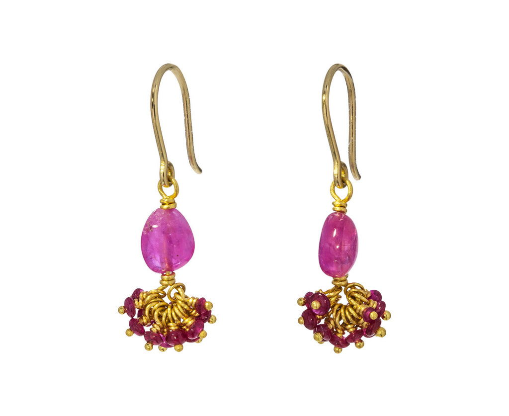 Ruby Sprinkle Earrings