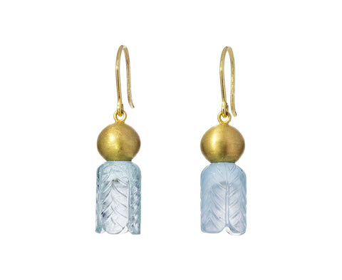 Aquamarine Lantern Earrings - TWISTonline