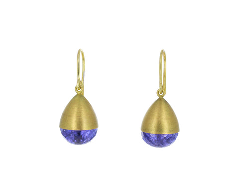 Tanzanite Buoy Earrings