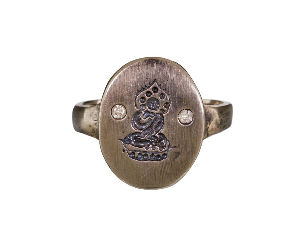 Diamond Buddha Ring - TWISTonline