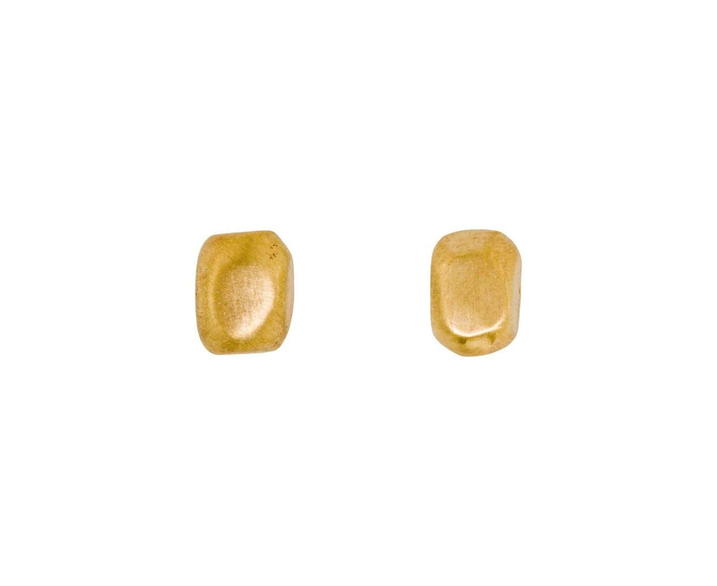 Gold Nugget Stud Earrings - TWISTonline