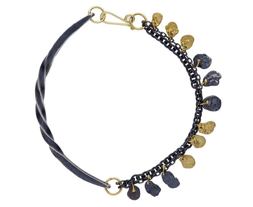 Silver and Gold Essex Bracelet - TWISTonline