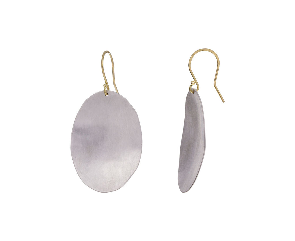 Large Oval Dome Earrings - TWISTonline