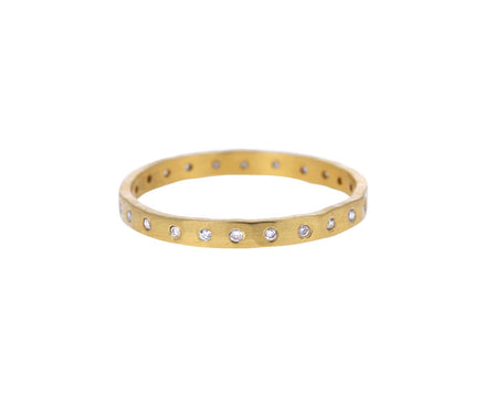 Thin White Diamond Band