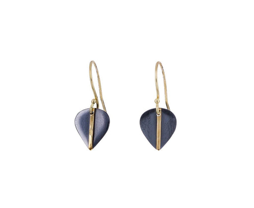 Mod Small Leaf Earrings - TWISTonline