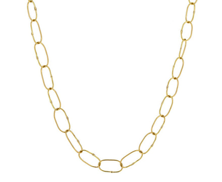 Long Handmade Gold Chain - TWISTonline