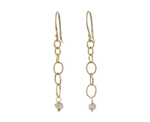 Babble Diamond Drop Earrings - TWISTonline
