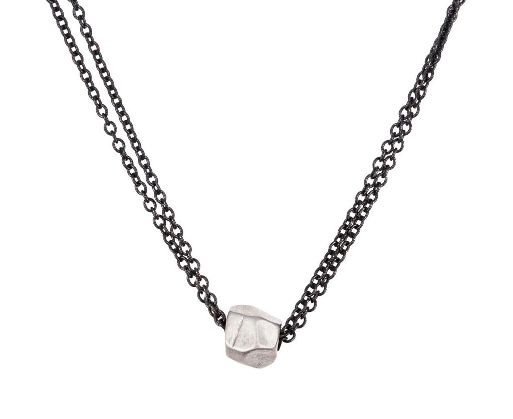 Silver Facet Pendant Necklace - TWISTonline