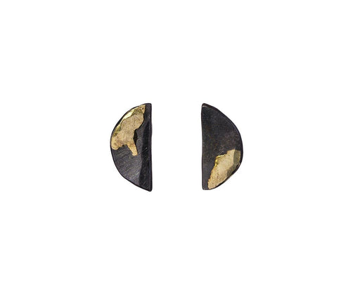 Gilded Half Lily Stud Earrings - TWISTonline