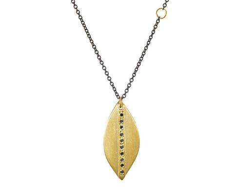 Mod Petal Diamond Pendant Necklace - TWISTonline