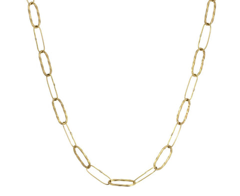 Gold Bowline Link Necklace - TWISTonline