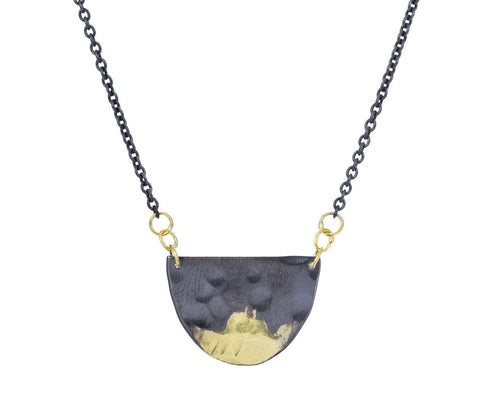 Gilded Half Moon Necklace zoom 1_sarah_mcguire_gold_gilded_half_moon_necklace