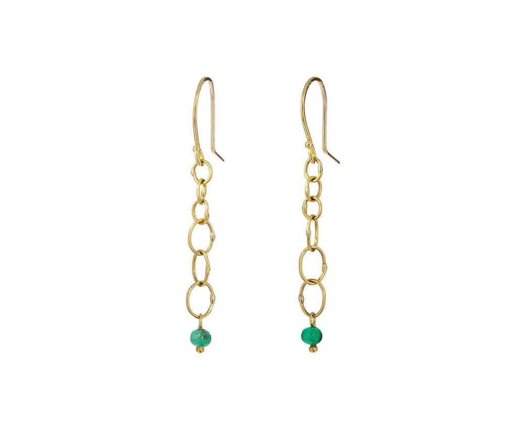 Babble Drop Emerald Earrings - TWISTonline
