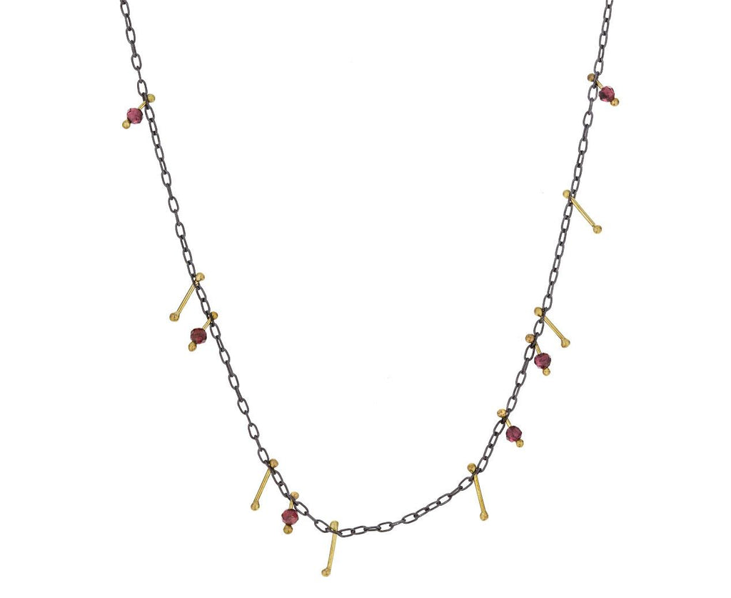 Garnet Strand Necklace - TWISTonline