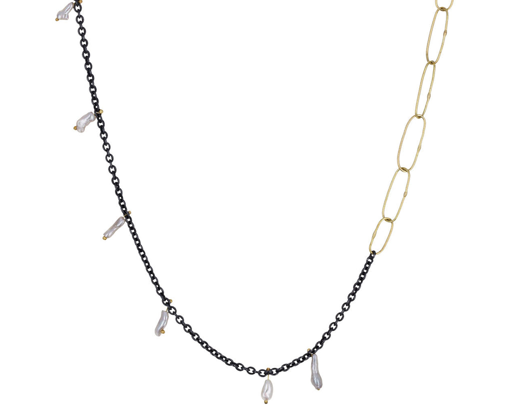 Kitchen Sink Necklace with Pearls - TWISTonline
