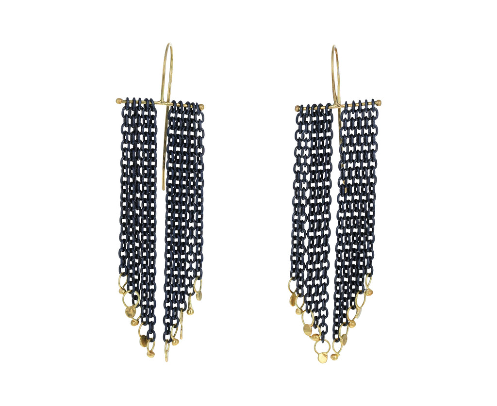 Long Salome Fringe Earrings - TWISTonline